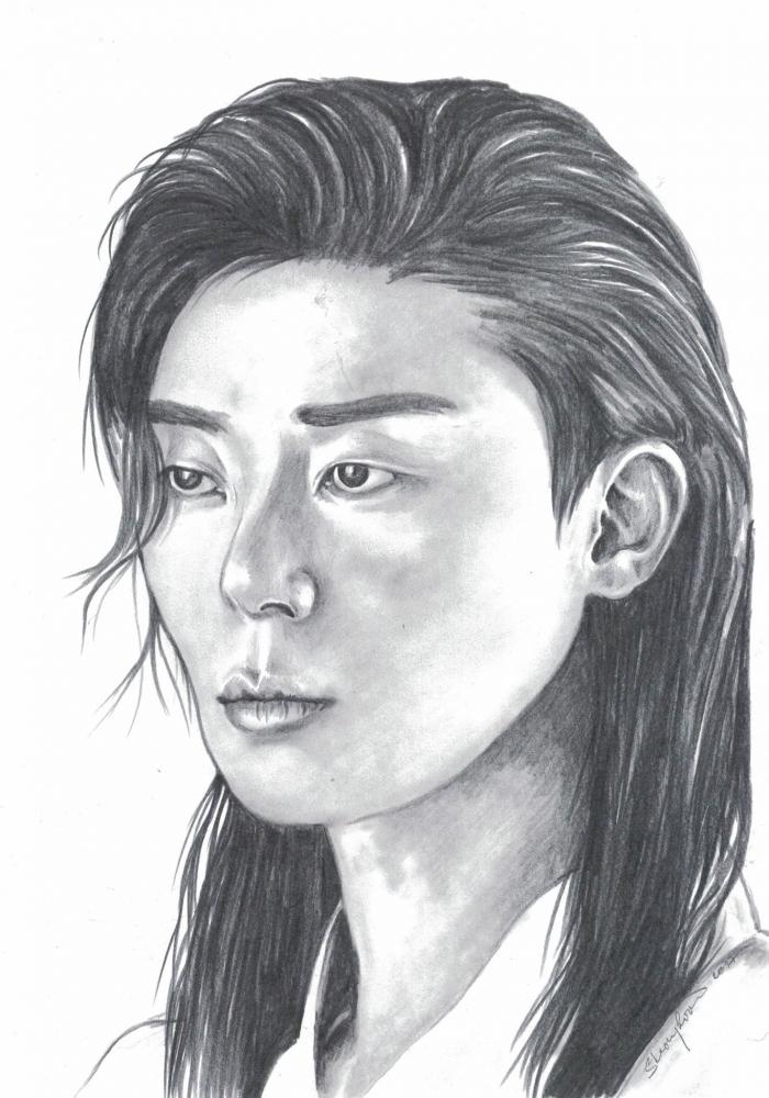 Park Seo-joon by ZiaCz